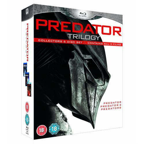 Predators Trilogy Boxset (blu ray) - £15 instore Tesco