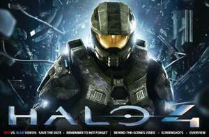 Halo 4 with Exclusive Raptor Armour Skin and Free Halo 4 T-shirt and Free 350 Clubcard points + 8% Quidco Only £32.19 @ Tesco Ent