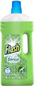 Flash with Febreze Freshness New Zealand Springs (1.4L) -  2 For £3 ... ASDA