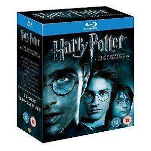 Harry Potter Complete Collection (Blu-Ray) - £27.78 @ Tesco Entertainment