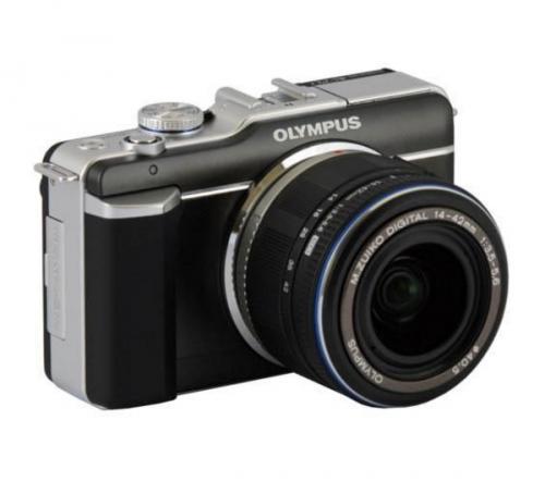 Olympus E-PL1 12mp Micro four thirds Camera and 14-42 lens £184.99 Argos