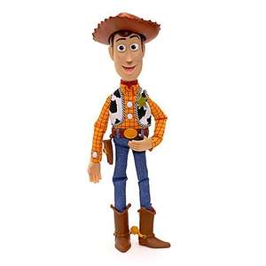 Toy Story Talking Woody Doll £15 in Disney Store or £20 delivered