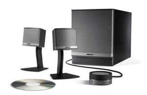 Bose Companion 3 Speakers for  £198.00 and possible 2% quidco. @ Hispek