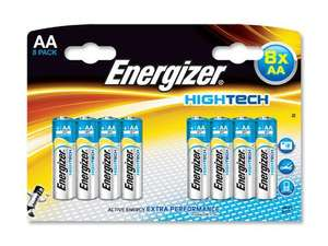 16 x Energizer High Tech AA/AAA premium batteries, £6 (37.5p each!) @ Tesco