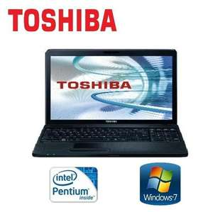 "Referbished TOSHIBA SATELLITE PENTIUM 6GB DDR3 500GB HDD 15.6"" WIN 7 WEBCAM C660-21Q LAPTOP £239 delivered from Tesco ebay outlet"