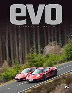 EVO MAGAZINE 3 issues £1.00 PLUS FREE GIFT - MEGUIAR'S ULTIMATE KIT X 2 @ Subscribe online