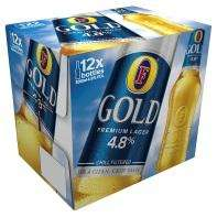 12 bottles of Fosters Gold for £7 @ ASDA