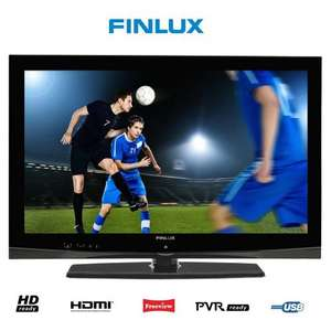 Finlux 32 Inch LCD TV, HD 720p with Built-in Freeview & USB PVR - £149.99 @ eBay (finux outlet)