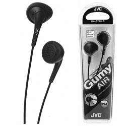 JVC Gumy Air In-Ear Headphones - Black £1 (was £7) @ Asda - Click & Collect
