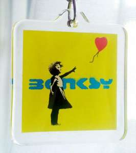 Banksy Keyrings £0.49 @ Home Bargains (instore)