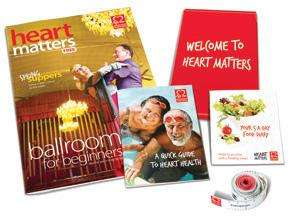 Free Tape Measure And 5 a Day Plan from British Heart Foundation