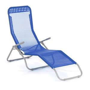 Wilko Siesta Lounger Blue / Orange - Was £25, now £10! Wilkinsons