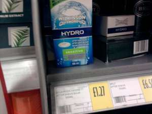 Wilkinson Sword Hydro After Shave Balm £1.27(100ml) @ Morrisons