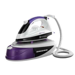 Russell Hobbs 14863 1800W Pink Steam Generator Iron for £45 @ ASDA Direct