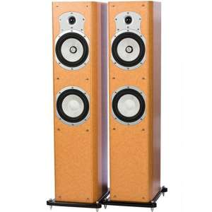 ROTH OLi 40 FLOORSTANDING SPEAKERS (PAIR) birds-eye maple finish - £179.95 @ Superfi