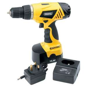 Draper 14.4V Cordless Drill - 36018 for £17 delivered to store @ Asda Direct