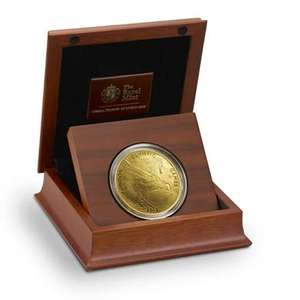 The UK's five-ounce gold coin celebrating London 2012 £11,500 @ The Royal Mint