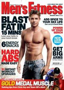 Men's Fitness Magazine 5 Issues for £5 (digital + print) + 6 Free Multipower Whey Protein drinks