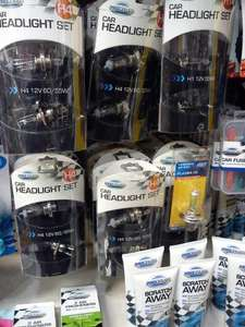 Car Headlight bulbs H1, H4 and H5 at Poundland for £1 a Pair
