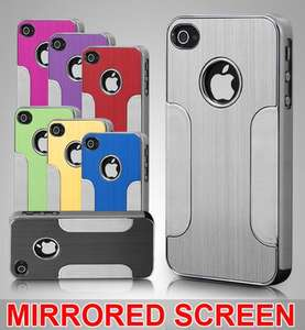 99p for a iphone 4/4s aluminum case and screen protector Delivered Ebay-HX1UK LTD