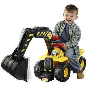 Fisher Price Big Action Digger Ride On (rrp £59.99)  now £29.73 del @ Amazon
