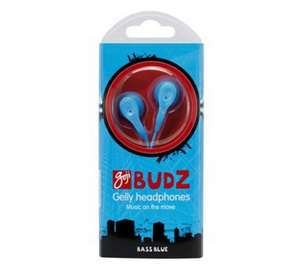 GOJI Budz GGBLU11 Headphones - Blue-47p, with free delivery@Dixons