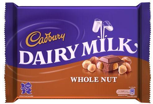 400g Cadbury's Whole Nut £2 @ Tesco