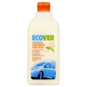 Ecover Car Wash & Wax 500ml 99p @ Home Bargains
