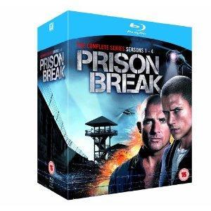 Prison Break - Complete Season 1-4 [Blu-ray] @ Amazon UK £48.97