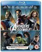 Avengers Assemble Blu-Ray with exclusive documentary £11.69 for new customers @ Sainsbury's