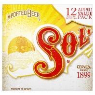 12 x Sol Lager  -  £8.00  .... ASDA