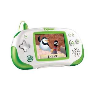 LeapFrog Leapster Explorer Learning Game Experience - Green or Pink for £29.99 @ ASDA Direct