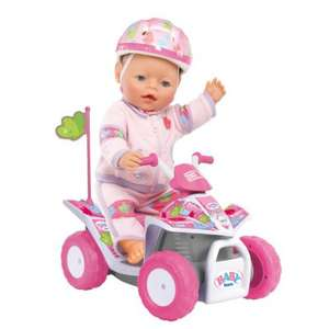 Baby Born RC Quad Bike now  £15.74 del to store @ Asda (rrp £34.99)