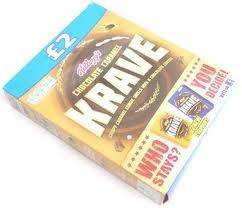 krave chocolate caramel 375g 2 for 99p (£2 RRP) @ 99p stores