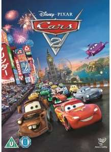 Disney Pixar Cars 2 DVD £5 Sainsburys Entertainment