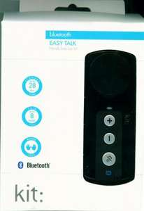 EASY TALK BLUETOOTH HANDS FREE  KIT CAR KIT £3.99 @ INSTORE SAINSBURYS