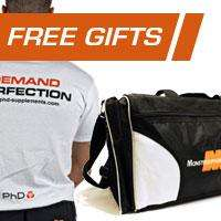 Free Gym Bag with orders over £69.99, or T-shirt with orders over £49.99 @ Monstersupplements