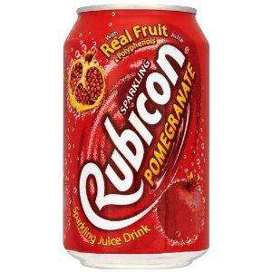 Rubicon Pomegranate Sparkling Drink 330 ml (Pack of 24) only £6.00 delivered @ Amazon