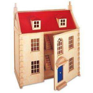 Pintoy Wooden Marlborough Dolls House £75.99 delivered @ Amazon