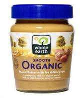 49p! 340g Whole Earth Peanut Butter - Crunchy or Smooth @ Home Bargains
