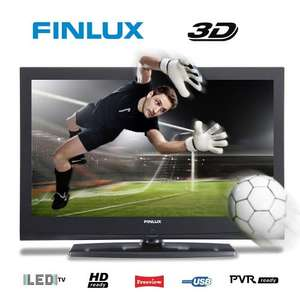 32 Inch LED 3D TV from Finlux, 4x 3D Glasses, HD Ready, Freeview & USB PVR - £199.99 Delivered @ eBay Finlux