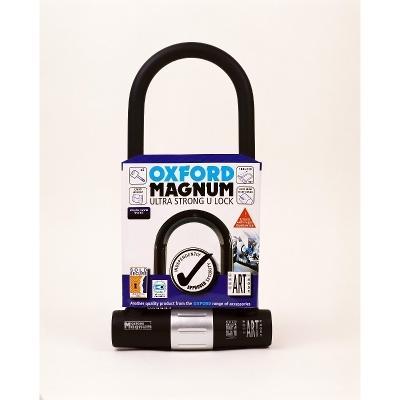 Oxford Magnum U-Lock Solid Secure Gold Motorbike / Bike Lock £29.99 @ Decathlon