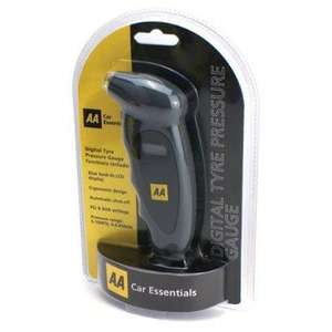 AA Digital Tyre Pressure Gauge £1.24 at Tesco Petrol Station