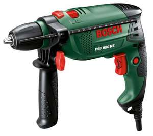 B&Q Weekend Sale Instore AND Online Bosch Compact Corded Hammer Drill @ £29.00
