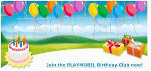 Join the Playmobil Birthday club for free goodies