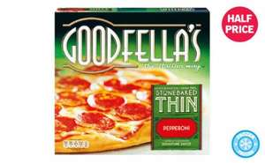lidl goodfella pizza - £1.15 instore at lidl