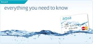 New Aqua Credit card - 3% Cash back on all purchases