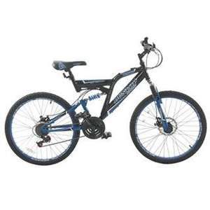 Dunlop Dual Disc 24 Inch Mountain Bike Junior was £229.99 now only £90 @ Sports Direct