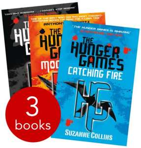 The Hunger Games Trilogy - £5 @ The Book People (Free Delivery with code - AUW3LG)