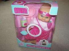 Emmi touch and talk teatime baby doll. Instore at Tesco.